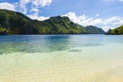 El Nido Palawan Philippines. Talisay Beach, Tapiutan Island, El Nido, Palawan, Philippines Stock Photography