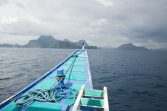 EL Nido, Philippinen Stockbild