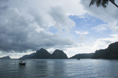EL Nido, Philippines images libres de droits
