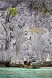 El Nido, Philippines . Rock and sea Stock Photos