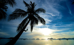 El Nido Sunset Royalty Free Stock Image