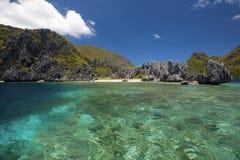 El Nido. Untouched nature in El Nido, Palawan, Philippines stock image