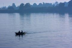 El Nilo azul Foto de archivo