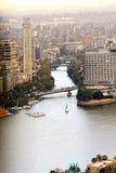 El Nilo El Cairo Imágenes de archivo libres de regalías