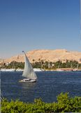 El Nilo Falluka Fotografía de archivo libre de regalías