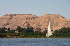El Nilo Felucca Fotografía de archivo
