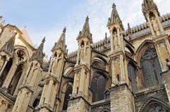 El Notre Dame de Reims Imagenes de archivo