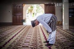 El novio Praying Fotografía de archivo