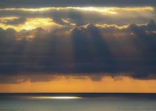 El nuevo amanecer de Australia Imagen de archivo libre de regalías