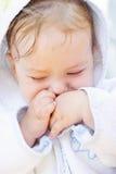 El nuevo bebé Imagen de archivo