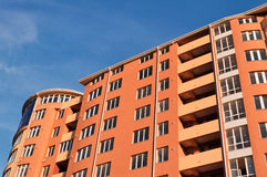 El nuevo edificio Imagen de archivo