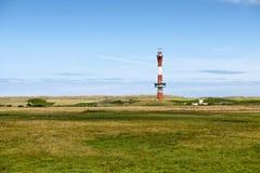 El nuevo faro en Wangerooge Imagen de archivo