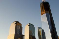 El nuevo horizonte del World Trade Center Foto de archivo
