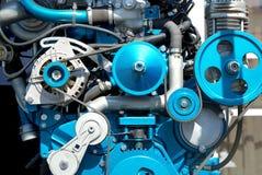 El nuevo motor en un escaparate imágenes de archivo libres de regalías