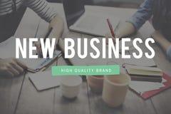 El nuevo negocio comienza para arriba concepto de las ideas frescas Fotos de archivo libres de regalías