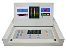 El nuevo panel del control numérico, prueba de la medicina de la dieta Imagen de archivo