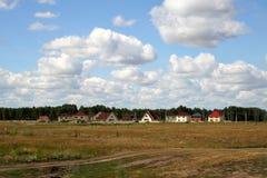 El nuevo pueblo Foto de archivo libre de regalías