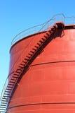 El nuevo tanque de almacenamiento químico fotografía de archivo libre de regalías