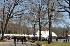 El 37.o festival anual del narciso en Meriden, Connecticut Imagenes de archivo