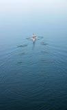 El oarsman Imagen de archivo