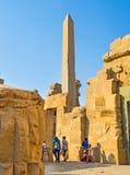 El obelisco antiguo Foto de archivo libre de regalías