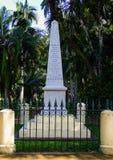 El obelisco de Lienard en Mauricio Foto de archivo