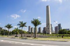 El obelisco de São Pablo - São Pablo imagenes de archivo