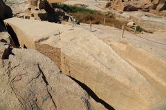 El obelisco inacabado fotografía de archivo libre de regalías