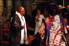 El obispo Emeritus Desmond Tutu del arco Imagen de archivo libre de regalías