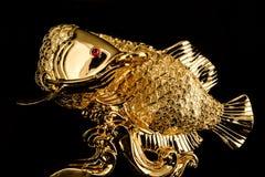 El objeto sagrado de los pescados es dios de ricos y del dinero para el chino Foto de archivo libre de regalías