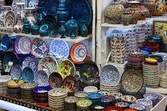 El objeto turco de la porcelana Foto de archivo libre de regalías