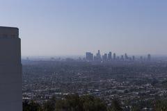 El observatorio de Griffith, Los Ángeles, California Foto de archivo libre de regalías