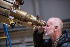 El observatorio GAO RAS de Pylkovsky es los obs astronómicos principales Imagenes de archivo