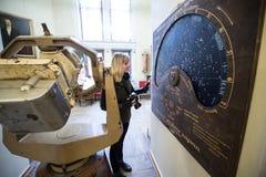 El observatorio GAO RAS de Pylkovsky es los obs astronómicos principales Fotos de archivo