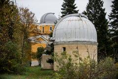 El observatorio GAO RAS de Pylkovsky es los obs astronómicos principales Fotos de archivo libres de regalías