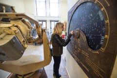 El observatorio GAO RAS de Pylkovsky es los obs astronómicos principales Imágenes de archivo libres de regalías