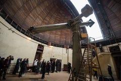El observatorio GAO RAS de Pylkovsky es los obs astronómicos principales Foto de archivo