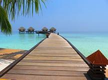 El Océano Índico maldives Foto de archivo