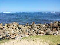 El océano azul Foto de archivo libre de regalías