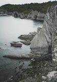 El océano en la costa imágenes de archivo libres de regalías