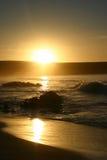 El océano Sunset Fotografía de archivo libre de regalías