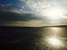 El océano y el Sun Imágenes de archivo libres de regalías