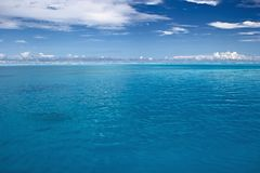 El Océano Índico tranquilo Imagenes de archivo