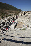 El Odeion, Ephesus, Esmirna, Turquía Imagen de archivo