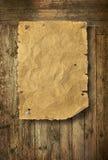 El oeste salvaje vacío quiso el cartel Fotos de archivo libres de regalías