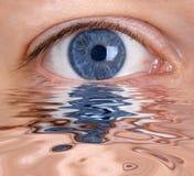 El ojo Fotos de archivo