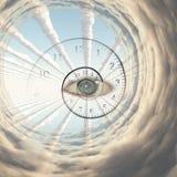 El ojo de dios libre illustration
