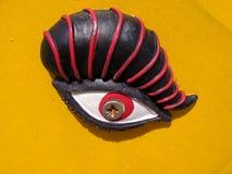 El ojo de Horus. Fotografía de archivo libre de regalías