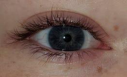 El ojo de la tormenta fotografía de archivo