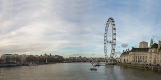 El ojo de Londres Foto de archivo libre de regalías